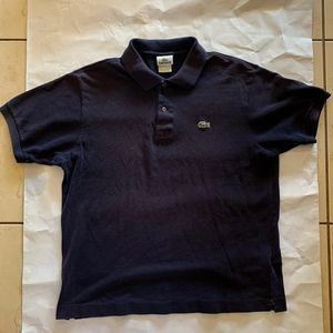 Lacoste Polo Navy  Size 5